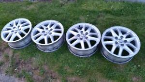 TOYOTA  ALUMINUM ALLOY WHEELS-16X6 OFF A 2000 CAMRY