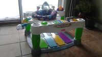 Fisher Price Little Super Star Step and Play Piano