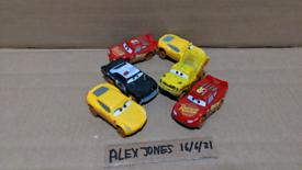 Disney Pixar Cars Thunderhollow Demolition Derby Crazy 8 Bundle