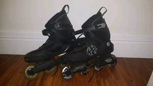 Mens size 10 K2 rollerblades. (Pads also if wanted)