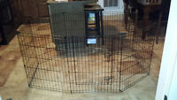Midwest Dog Exercise Pen - NEARLY NEW - only 3 weeks old