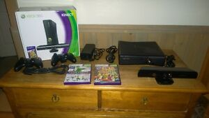 XBOX 360 + Kinect and 2 x Wireless Controllers
