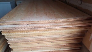 """NEW PLYWOOD SHEETS - 3/8"""" THICK"""