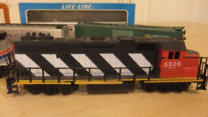 train tracks,hobby transformer 30$ and train engines and cars