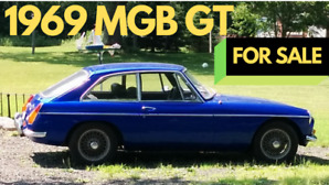 1969 MGB GT British sports car for sale
