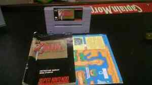 The Legend of Zelda a Link to the Past SNES Game For Trade