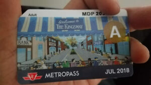 July TTC Metropass - Adult