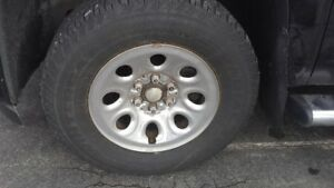 "***Wanted ***  Chevrolet 17"" Truck Rim"