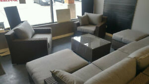 1675.00 complete outdoor patio lounge