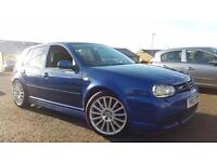 2003 03 VOLKSWAGEN GOLF 3.2 R32 RARE 5 DOOR.STUNNING COLOUR.NEW COILOVERS .