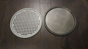 "2 Round 13"" Baking Trays"