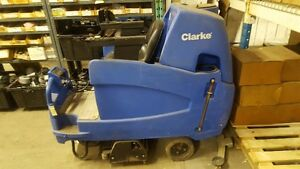 Cleaning Equipment - Clarke Rider - Auto Scrubber LIKE NEW 34""