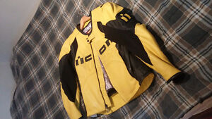 ICON OVERLOAD JACKET MEDIUM YELLOW & BLACK STRIPES