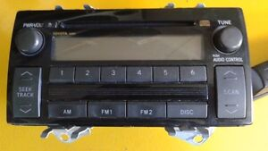 Radio TOYOTA CAMRY 86120-AA160  pour 2004 à 2006