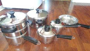 Stainless Steel Pots and Pan