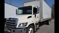 Hino308 24ft box truck with low km