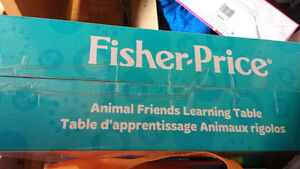 Fisher Price - animal friends learning table