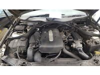 Mercedes C220 CDI Engine and other parts for breaking