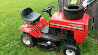 """Mastercraft 11 HP riding lawn tractor with 32"""" deck"""