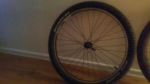Front and rear wheel 9 cassette for mountain bike