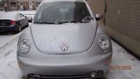 ETESTED & SAFETED 2003 NEW BEETLE DIESEL