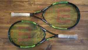Deux raquettes de tennis