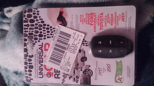 Selling a keyless entry fob