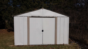 Arrow Steel Shed