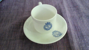 Sutherland China Royal Navy Bone China Cup & Saucer 1965