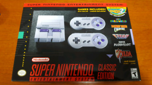 Brand New BNIB: Super Nintendo System SNES Mini