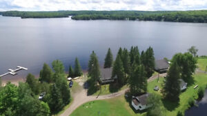 Cottage Investment Opportunity - Waterfront Cottages Lake Cecebe