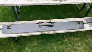 1969 70 Ford Mustang rear valance new