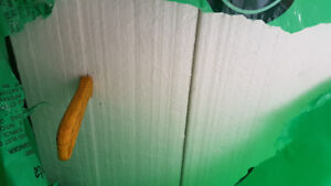 """Building material ( Styrofoam sheets)... two  4'x8'x6""""..ect"""