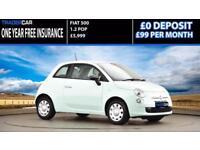 Fiat 500 1.2 2014 POP - FREE INSURANCE