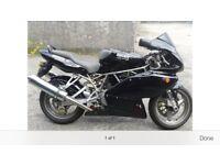 Ducati 750 super sport 2002 black