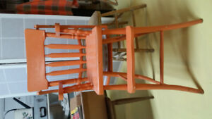 Chaise pour bébé a vendre