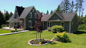 Furnished 2 bdrm, 1 bath quiet country home for winter rental