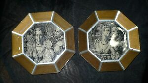 """VINTAGE 2 GORGEOUS VICTORIAN """"ATTRIBUT"""" WALL PLAQUES Kitchener / Waterloo Kitchener Area image 2"""