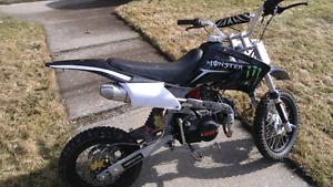 Moto 4 vitesse a clutch