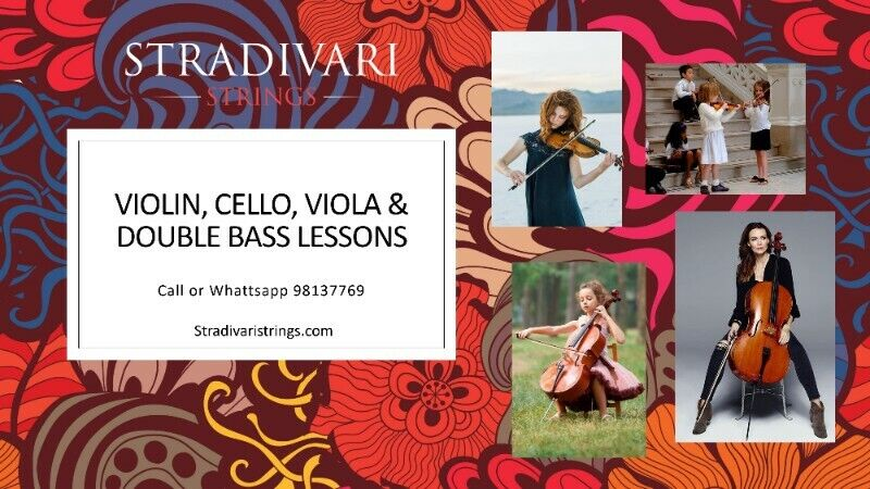 Cello Lessons with Professional Cello Teacher - All levels, All locations