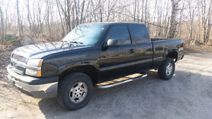 CERTIFIED, clean well maintained  03 Silverado.