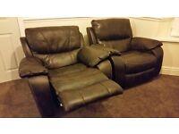 Single recliner sofa's