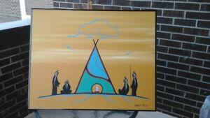 wabose native artist.