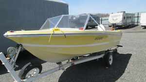 Boat,14ft with Johnson 50hp,2 stroke,excelent condition. Milton