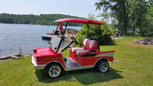 57 Chev Golf Cart