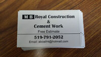 MB ROYAL CEMENT