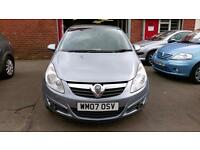 VAUXHALL CORSA 1.3 CDTi DIESEL 5 DR £30 TAX 87K MILES 9 STAMPS SERVICE BOOK 07