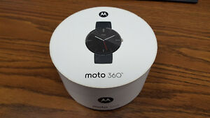 moto 360 - Smart watch - Motorola Leather Band