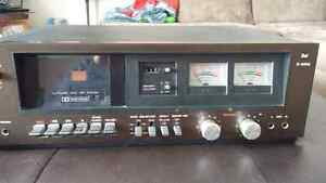 DUAL Tape Player and Recorder