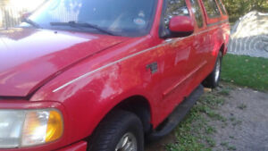 2002 f150..$500.00  for parts..engine good 143,000kms